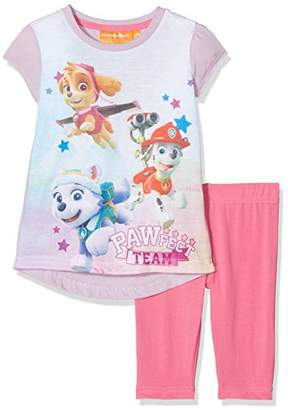 Nickelodeon Girl's Paw Patrol Flying Stars T-Shirt,(Manufacturer Size: 3 Years)
