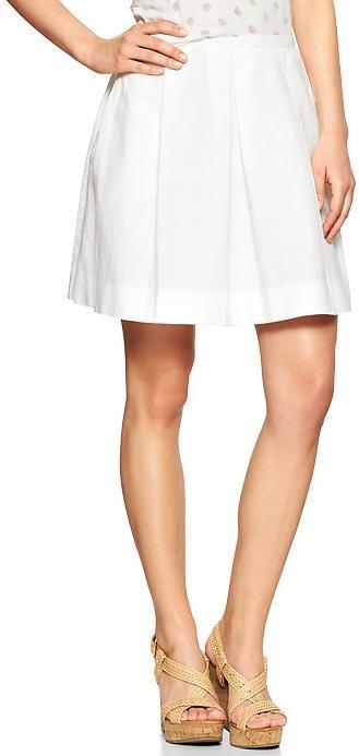 Gap Pleated linen skirt