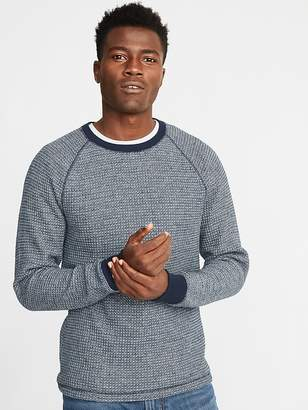 Old Navy Chunky-Textured Thermal-Knit Tee for Men