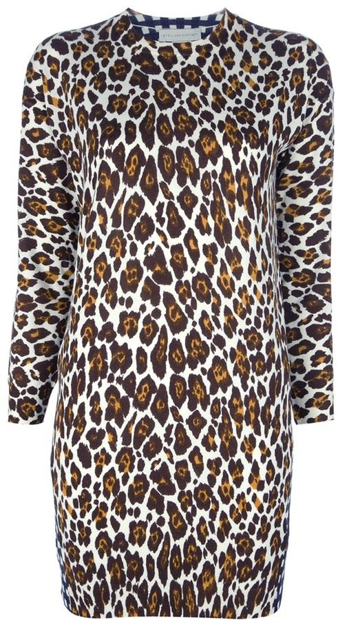 Stella McCartney contrast side dress