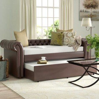 Three Posts Jeffersonville Twin Daybed with Trundle