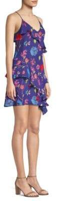 Parker Holly Floral Ruffle Dress
