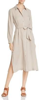 T Tahari Millie Tie-Waist Shirt Dress
