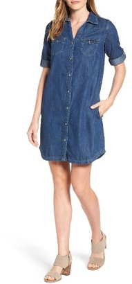 Women's Mavi Jeans Bree Denim Shirtdress $98 thestylecure.com