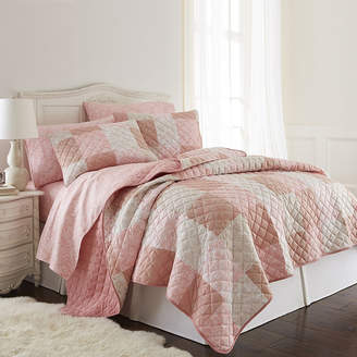 MICRO FLANNEL Micro Flannel Patchwork Quilt Set