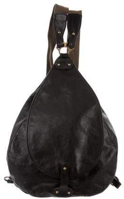 Barneys New York Barney's New York Smooth Leather Backpack
