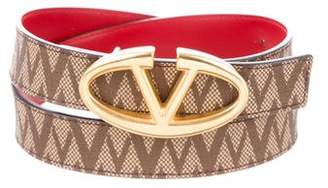 Valentino Canvas Waist Belt