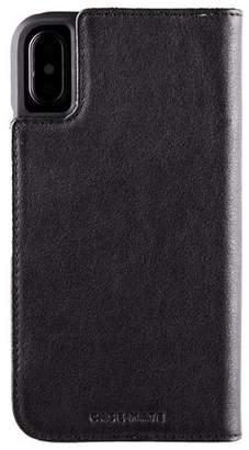 Case-Mate iPhone Xs / X Black iPhone Wallet Case