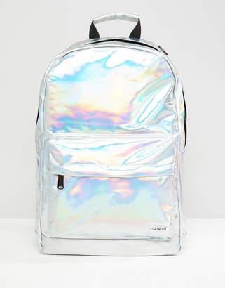 Spiral Silver Rave Backpack