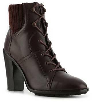 Ralph Lauren Rayna Leather Cuff Bootie