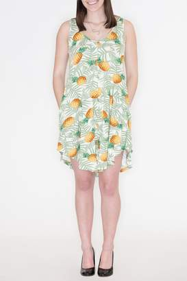 Cherish Pineapple Pocket Dress