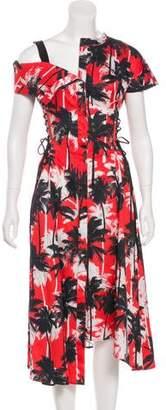 Jason Wu Printed Midi Dress