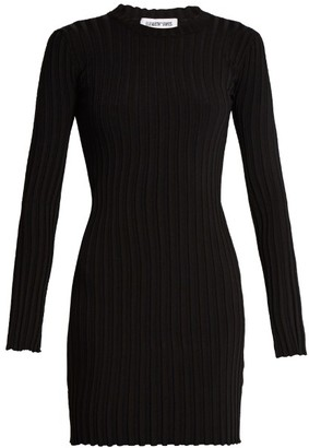 ELIZABETH AND JAMES Penny long-sleeved ribbed-knit dress $326 thestylecure.com