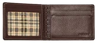 Boconi Tyler Pebbled Leather Slimster Bifold Wallet