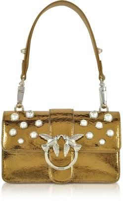 Pinko Mini Love Shiny Pearl 1 Shouder Bag