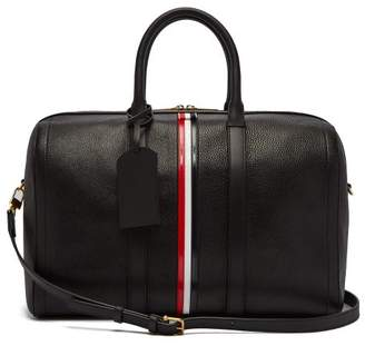 COM · Thom Browne Tricolour Striped Leather Holdall - Womens - Black a253c66518
