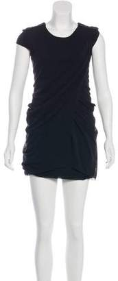 Vivienne Tam Short Sleeve Mini Dress