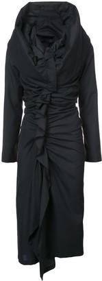 Yohji Yamamoto gathered dress