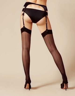 Agent Provocateur Amber Stocking Black
