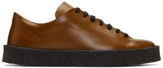 Jil Sander Brown Antick Sneakers