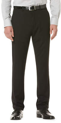 Perry Ellis Portfolio Slim-Fit Solid Herringbone Pant