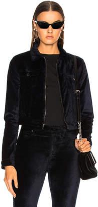 Cotton Citizen for FWRD Velvet Crop Utility Jacket