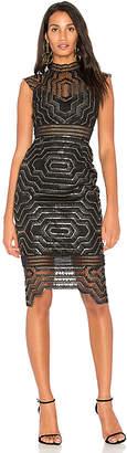 Saylor Heloise Embellished Midi Dress