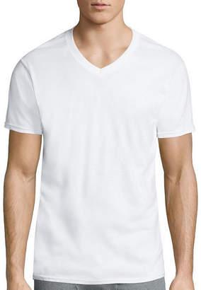 Gildan 4-Pk. Platinum Short-Sleeve V-Neck T-Shirts