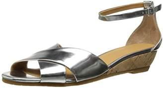 Marc by Marc Jacobs Women's Metallic Cross Front Wedge Sandal