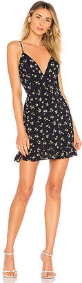 About Us Mayra Floral Ruffle Dress