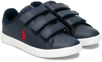 Ralph Lauren Kids touch strap sneakers
