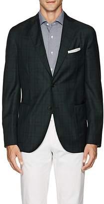 """Boglioli Men's """"K Jacket"""" Plaid Wool Two-Button Sportcoat"""