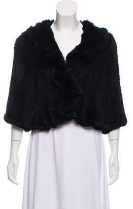 Matthew Williamson Cropped Fur Jacket