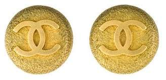Chanel CC Medallion Clip-on Earrings