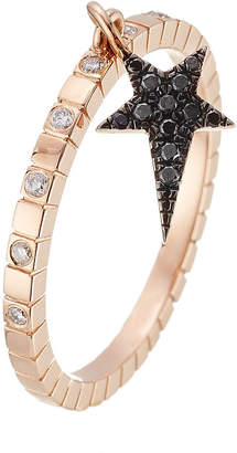 Diane Kordas 18kt Rose Gold Ring with Diamonds