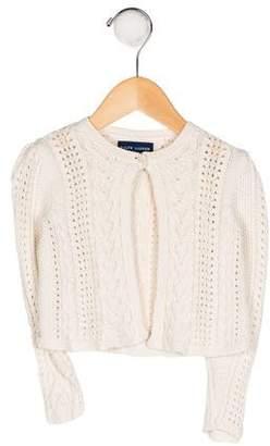 Ralph Lauren Girls' Knit Button-Up Cardigan