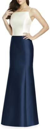 Dessy Collection Sateen Twill Mermaid Skirt