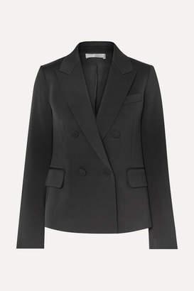 Vince Satin-crepe Tuxedo Jacket - Black