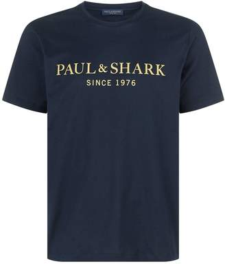 Paul & Shark Logo T-Shirt