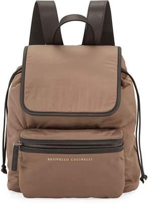 Brunello Cucinelli Techno Nylon Backpack