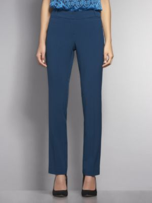 New York & Co. City Double Stretch Curvy Slim Leg Pant