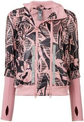 adidas by Stella McCartney Run floral print jacket