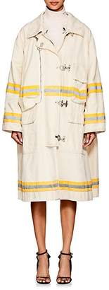 Calvin Klein Women's Cotton Canvas Oversized Trench Coat