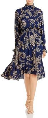 Nanette Lepore nanette Smocked Floral-Print Dress
