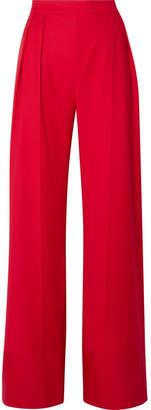 Michael Lo Sordo - Wool Wide-leg Pants - Red