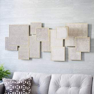 west elm Overlapping Squares Mirror