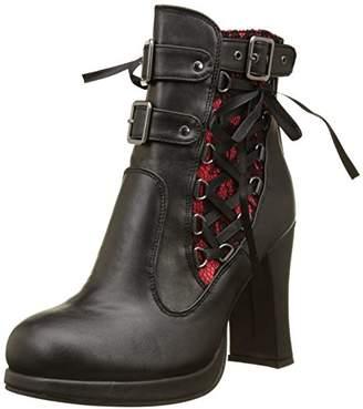 Demonia Women's Cryp51/Brvl Ankle Bootie