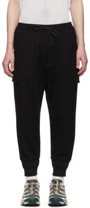 Juun.J Black Tapered Lounge Pants