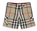 Exploded Check Bermuda Shorts