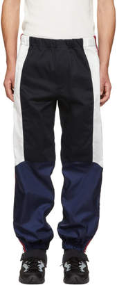 Givenchy Navy Moto Combat Lounge Pants